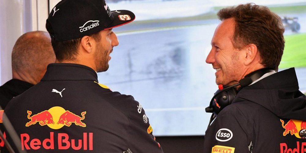 """Christian Horner: """"Ricciardo se adapta muy bien a Red Bull y Red Bull a su imagen"""""""