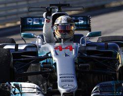 """Lewis Hamilton: """"Esto muestra la fortaleza del equipo y estoy orgulloso de ser parte de ello"""""""