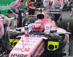 """Esteban Ocon, 5º: """"Es un logro fantástico, aunque creí que el podio era posible"""""""