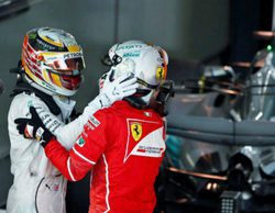 "Sebastian Vettel, sobre Lewis Hamilton: ""Ha sido el mejor piloto del 2017. Se merece el título"""