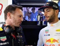 """Christian Horner, sobre la renovación de Ricciardo: """"Esperaremos lo que haga falta"""""""