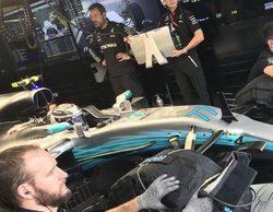 Valtteri Bottas se lleva la pole y Lewis Hamilton abandona en la clasificación del GP de Brasil 2017
