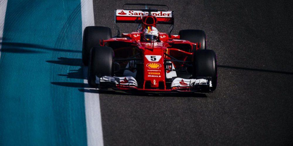 """Sebastian Vettel: """"El coche y su equilibrio fueron buenos"""""""