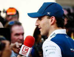"""Kubica protagoniza los tests en Abu Dabi: """"No voy a conducir con una sola mano"""""""