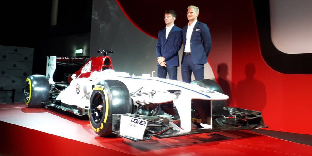 OFICIAL: Alfa Romeo Sauber anuncia a Marcus Ericsson y Charles Leclerc para 2018