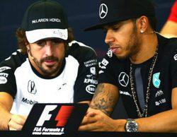 Hamilton tiene claro que no pilotará con Ferrari ni compartirá de nuevo equipo con Alonso