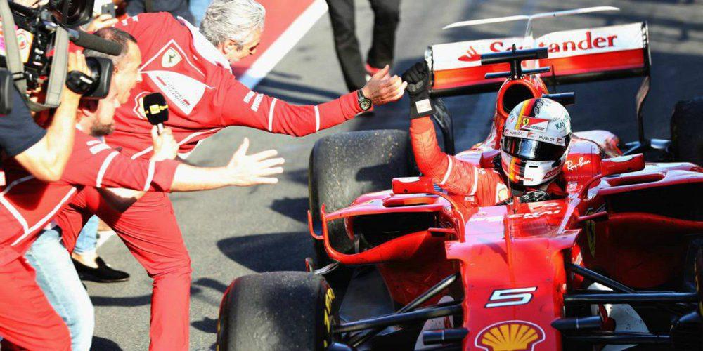 """Sebastian Vettel reflexiona sobre 2017: """"A veces hay cosas que no están en tus manos"""""""
