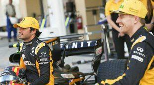 """Nico Hülkenberg: """"Sainz tiene talento y es rápido, será muy importante para el desarrollo del equipo"""""""