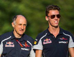 """Franz Tost confía en el talento natural de Daniil Kvyat: """"Merece estar en F1"""""""