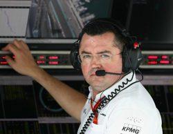 "Eric Boullier asegura que el chasis del McLaren ""vuelve a ser de los mejores de la parrilla"""