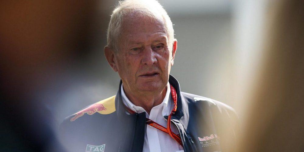 """Helmut Marko: """"La Fórmula 1 es una competencia, si son mejores, tenemos que trabajar más duro"""""""
