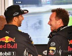"""A Christian Horner no le preocupa la posible salida de Ricciardo: """"Red Bull no anda corto de opciones"""""""