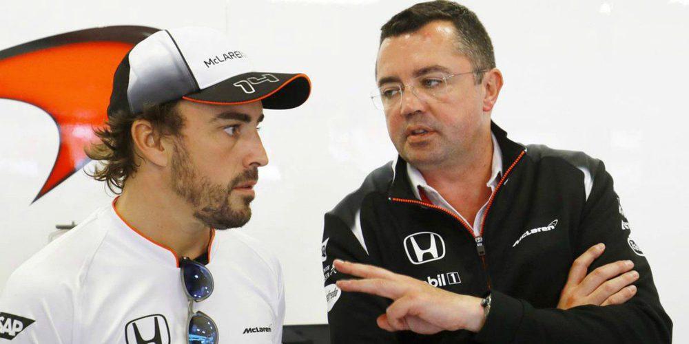 """Eric Boullier: """"Fernando Alonso es un piloto tenso, con rabia y necesita mostrar su frustración"""""""