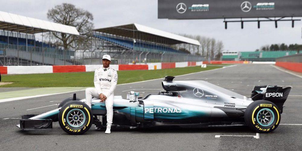 """El Mercedes W08 de 2017, el coche """"más difícil"""" para Hamilton"""