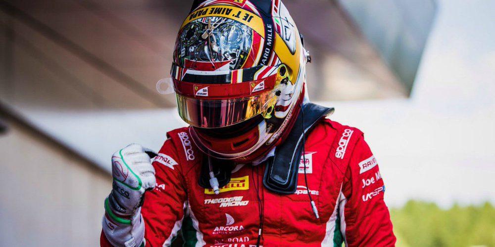 "Charles Leclerc: ""Esta temporada 2017 no ha podido acabar mejor para mí"""