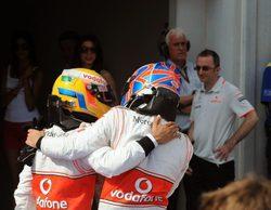 Jenson Button habla de su rivalidad con Lewis Hamilton en su periodo en McLaren