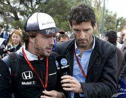 """Mark Webber, sobre Fernando Alonso: """"Si quiere triunfar en F1 no se puede permitir distracciones"""""""