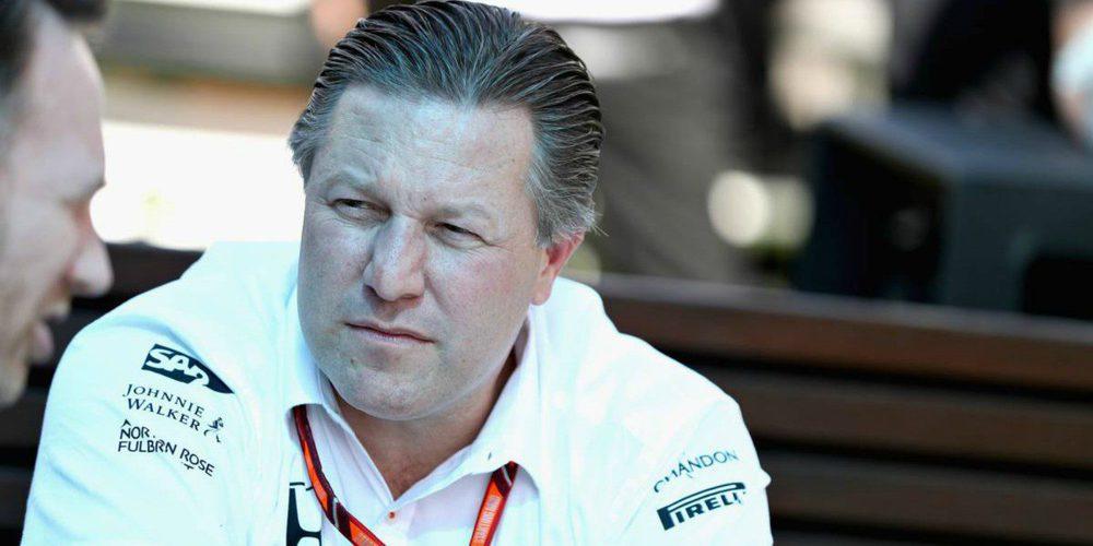 Zak Brown anticipa que habrá muchos cambios en McLaren para 2018