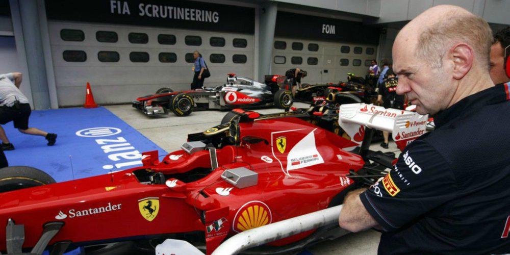 """Adrian Newey: """"Haber salido de Red Bull para fichar por Ferrari no habría estado bien"""""""