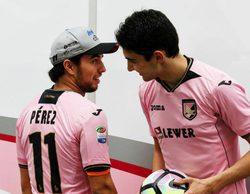 """Sergio Perez: """"Mi principal objetivo para 2018 es batir de nuevo a Esteban Ocon"""""""