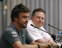 """Zak Brown: """"Nunca hemos recibido un ultimátum por parte de Fernando Alonso"""""""