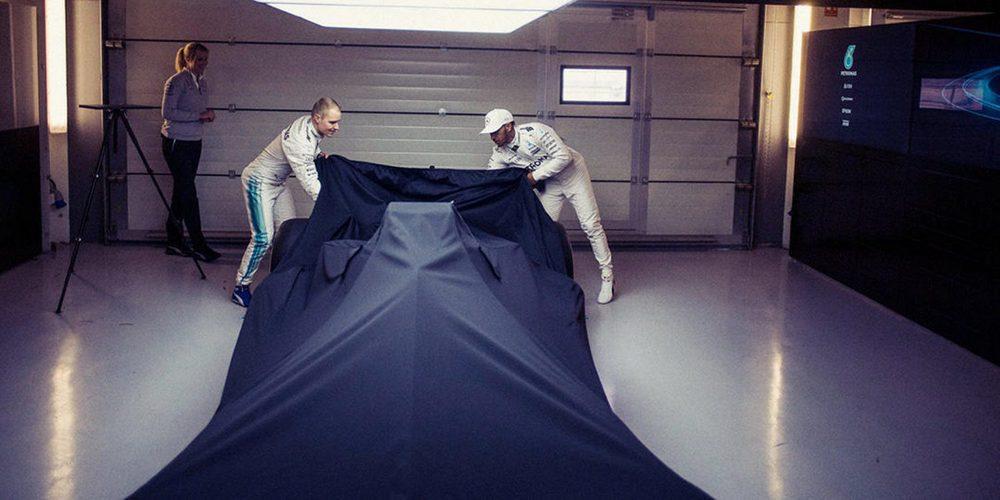 Mercedes presentará el nuevo W09 EQ Power+ el 22 de febrero