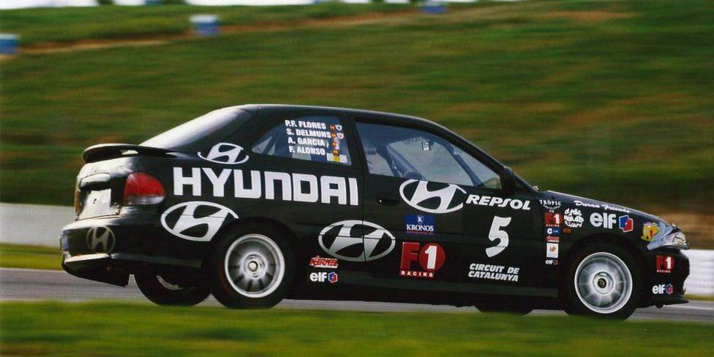 El debut de Alonso en Resistencia: 24 horas de Montmeló de 1999