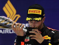 """Ricciardo lanza una pulla a Vettel: """"Max es el único compañero que ha supuesto un desafío para mí"""""""