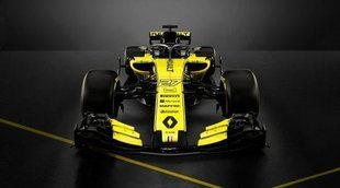 Renault presenta su monoplaza para 2018: RS18
