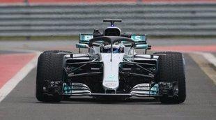 Mercedes presenta su coche para 2018: el W09