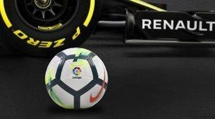 Acuerdo de patrocinio entre Renault Sport y LaLiga Española de Fútbol