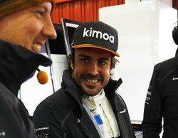 """Fernando Alonso marca el único tiempo del tercer día de testing: """"Una gran sensación"""""""
