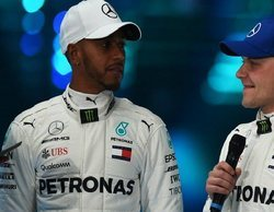"""Lewis Hamilton contento tras el día 4 de testing: """"Tenemos un coche definitivamente mejor"""""""