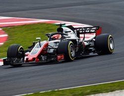 Desde Haas están satisfechos con su rendimiento en la primera semana de test