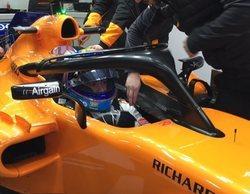 """Fernando Alonso, sobre Montmeló: """"El nuevo asfalto es bastante bueno, tiene cero baches"""""""