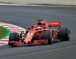 Vettel lidera en la mañana del Día 5 de test