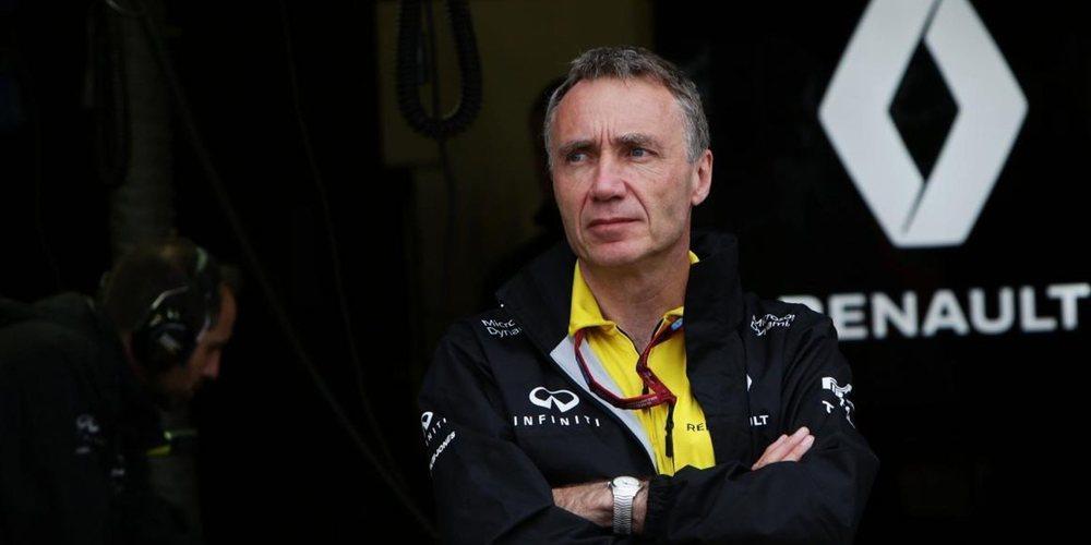 """Bob Bell, director técnico de Renault: """"Nuestro objetivo es afianzarnos detrás del Top 3"""""""