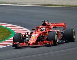 Vettel vuela en otra mañana rápida en Barcelona
