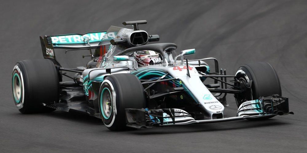 """Lewis Hamilton: """"En mi simulación de carrera de hoy, hacía tiempos de qualy del 2017"""""""