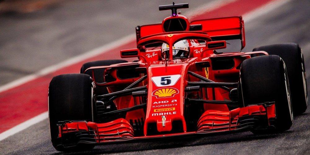 Sebastian Vettel afirma que los test de Mercedes y Red Bull no son representativos