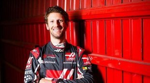 Romain Grosjean confía en el potencial de Haas para 2018