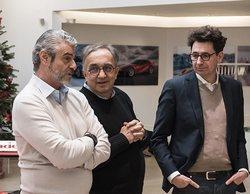 """Sergio Marchionne apuesta por el SF71H: """"Puede ser un coche ganador al 51%"""""""