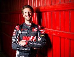 """Romain Grosjean: """"Ha sido un gran día, pero tenemos que seguir trabajando"""""""