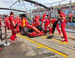 Sebastian Vettel se lleva las Libres 3, marcadas por un clima cambiante