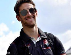"""Romain Grosjean, optimista: """"Tenemos una base muy buena y sabemos dónde podemos mejorar el coche"""""""