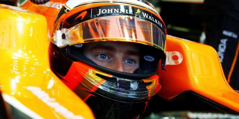 """Stoffel Vandoorne: """"Mi objetivo sigue siendo dedicarme al 100% a la Fórmula 1"""""""