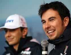 Force India elige a Sergio Pérez para montar su nuevo alerón delantero en Baréin