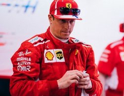 """Kimi Räikkönen, sobre Baréin: """"Estoy feliz de estar a dos segundos de distancia si ganamos todos los domingos"""""""
