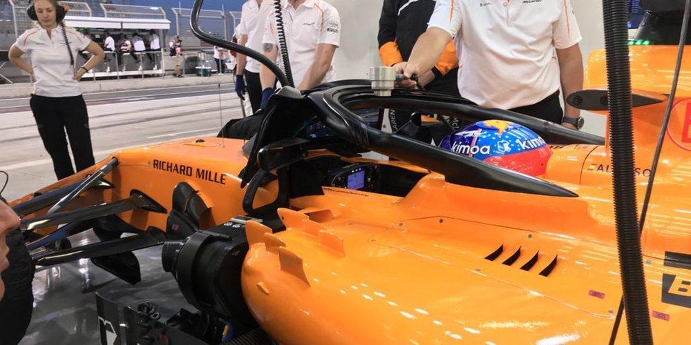 """Fernando Alonso explica la posición del MCL33: """"En el primer sector tenemos problemas"""""""