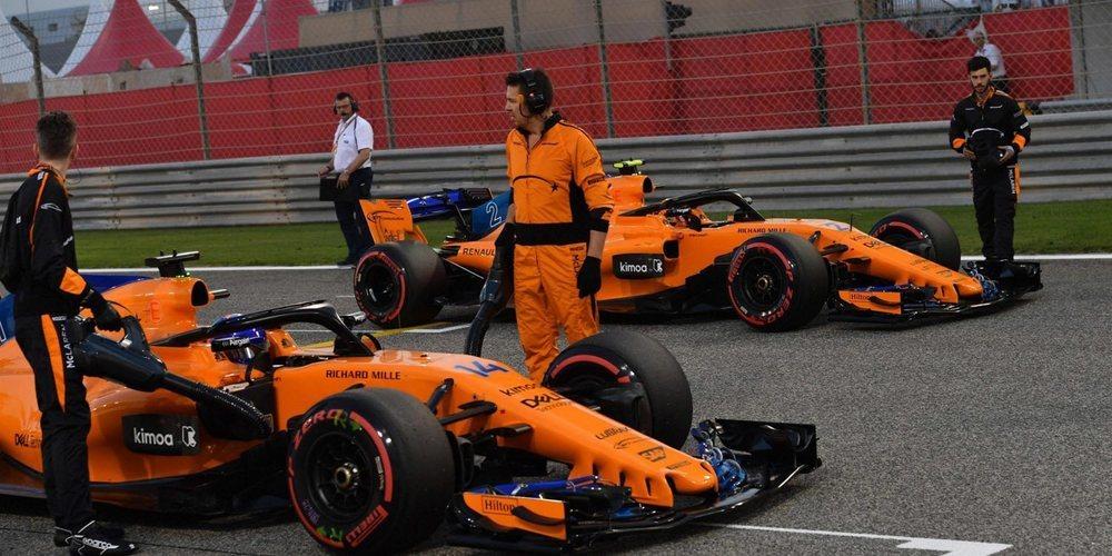 """Fernando Alonso: """"Nos faltaba ritmo en carrera para seguir a Hulkenberg o los Haas"""""""